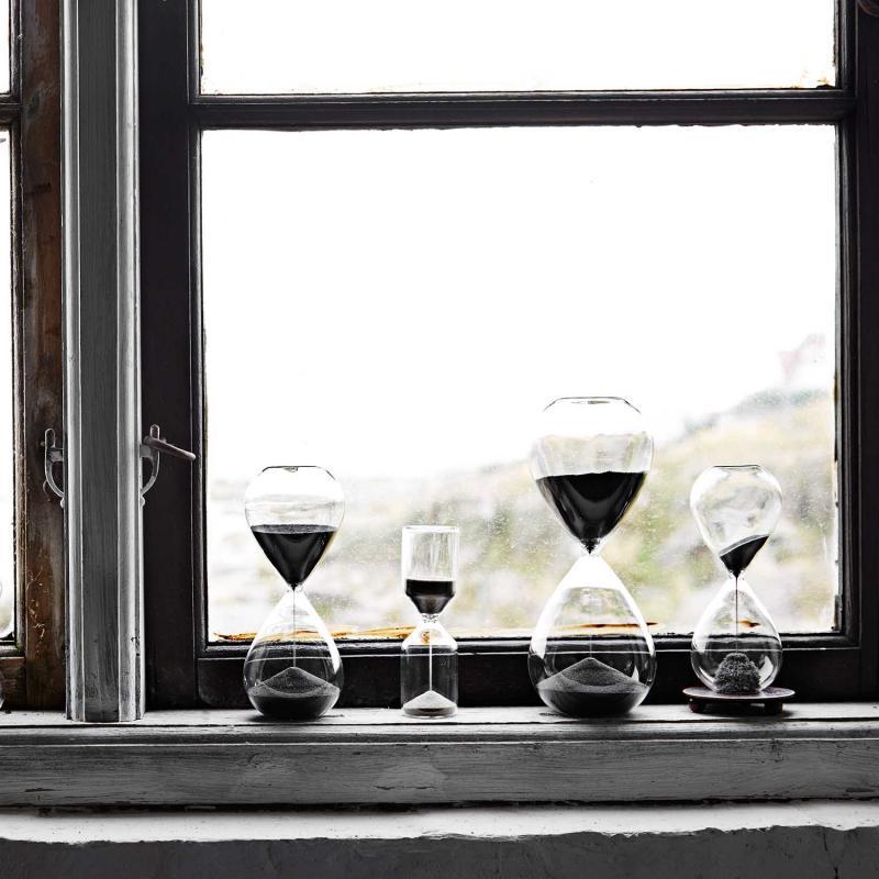 Timglas med magnetisk effekt