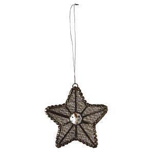 Julpynt till julgran och granris - elegant stjärna