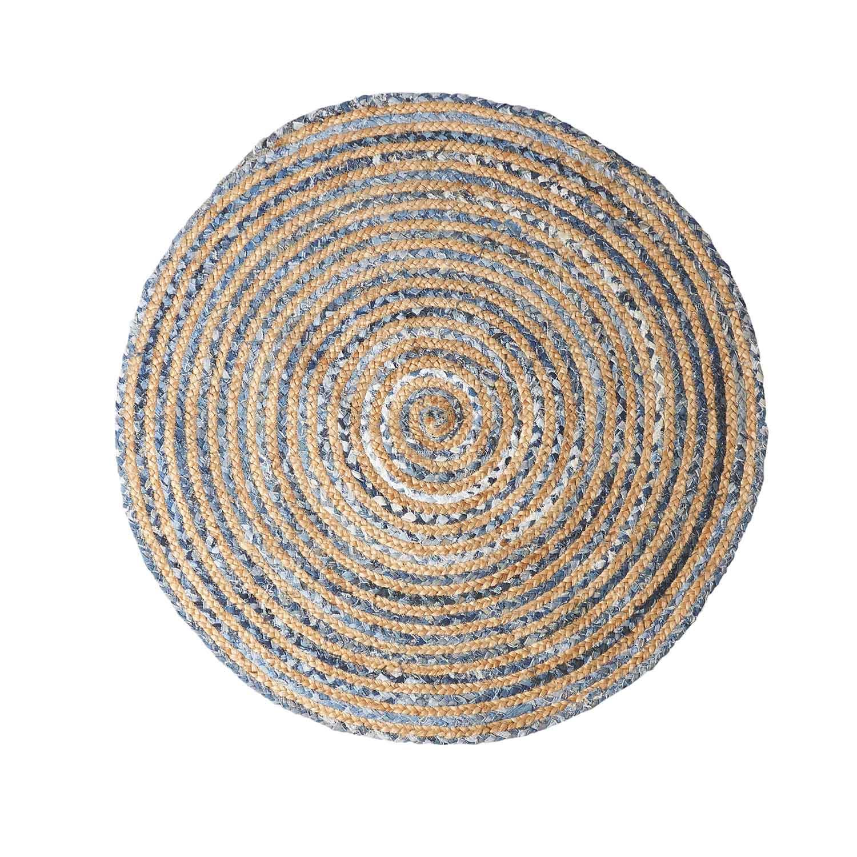 liten rund matta