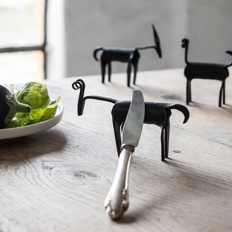 Odin hållare för smörkniv & bordsdekoration
