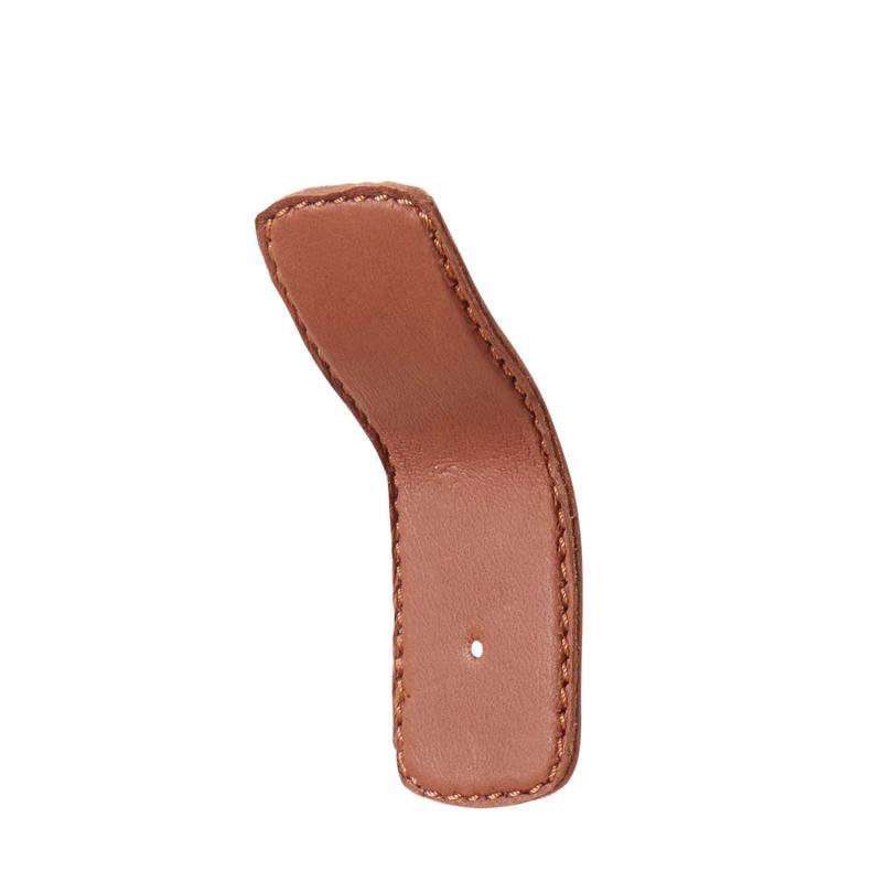 Handtag i läder - läderkrok