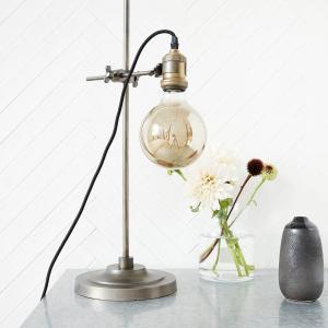 Lamphållare i metall - industrilampa för glödtrådslampa