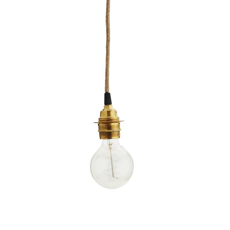 lamphållare i mässing