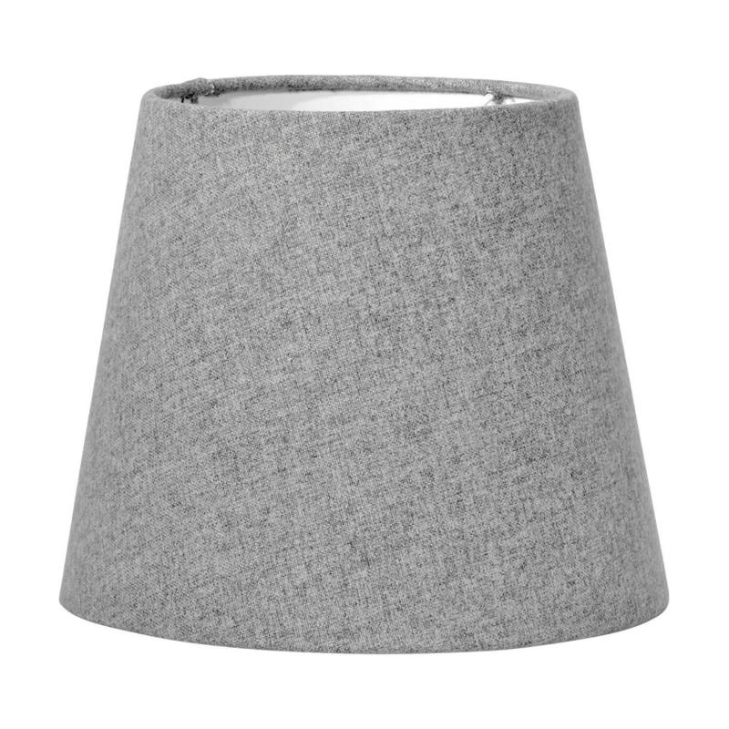 Mia lampskärm i grå filt - lampskärm i filttyg