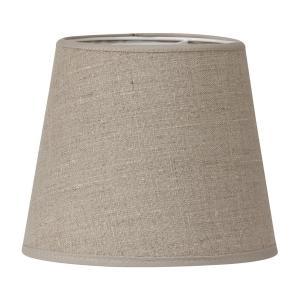 Mia lampskärm i naturfärgat lin - lampskärm i linne