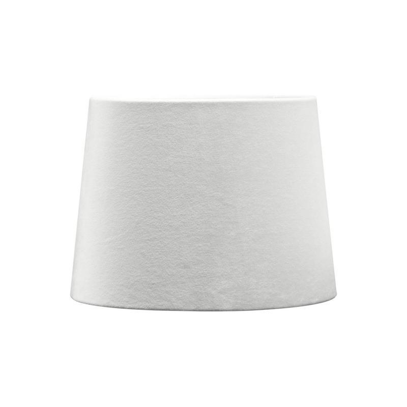 Sofia lampskärm i off-white sammet