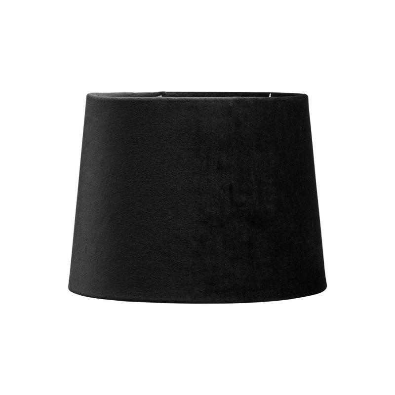 Sofia lampskärm i svart sammet