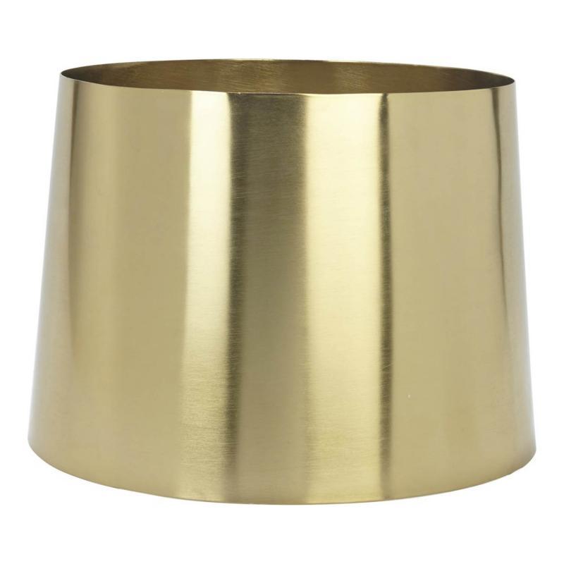 Sofia lampskärm i metall - GULD