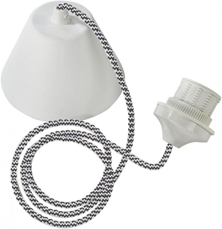 Takupphänge - sladd för taklampa - lampfäste samt takkåpa