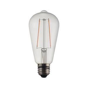 LED-lampa Globe  Filament  Edison 2W