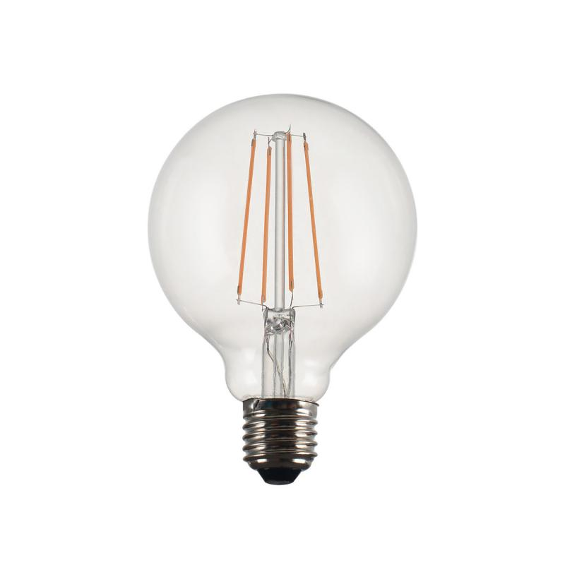 LED-lampa Globe Vintage Filament 95 mm