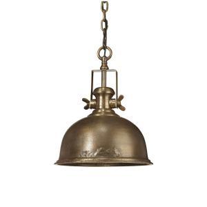 Taklampa - industrilampa i grov metall