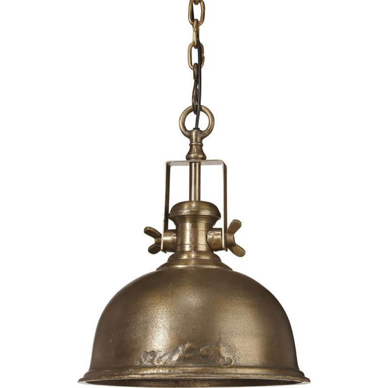 Industrilampa Leeds - taklampa i grov metall