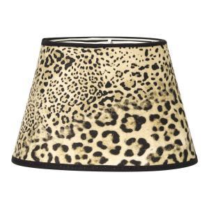 Leopardskärm - tuff lampskärm av leopard