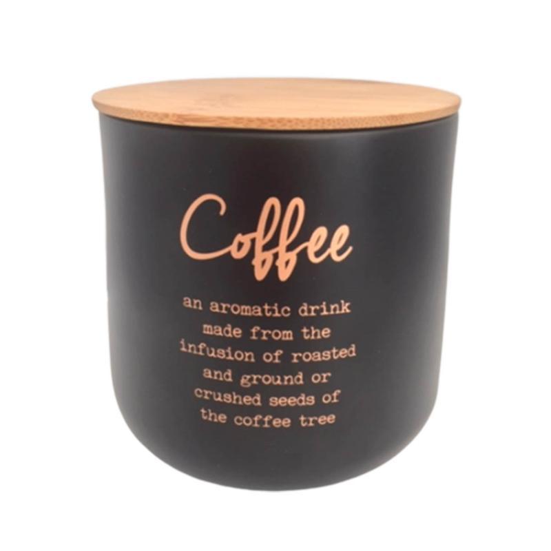 Kaffeburk i plåt