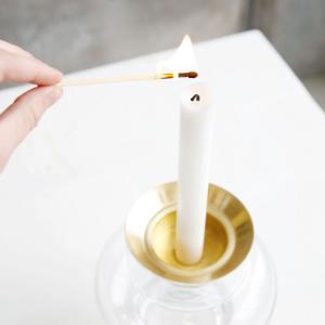 Ljushållare i mässing  - passar House doctors vaser