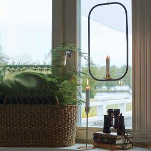 Ljushållare för fönster och vägg - ljusring