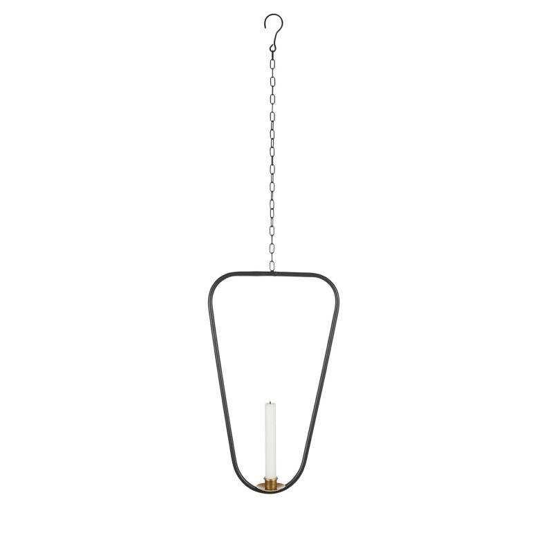 Ljusring för fönster och vägg - avlång hängande ljusstake