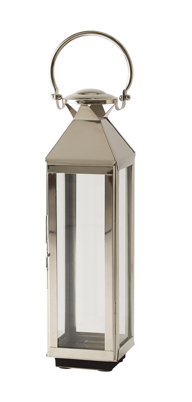 Prima Rostfri lykta - lanterna i glas NJ-74