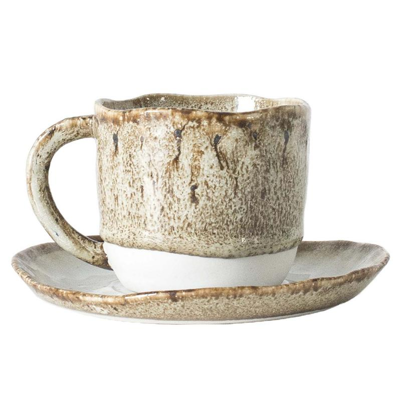 MIKA kopp & fat keramik  från Olsson & Jensen