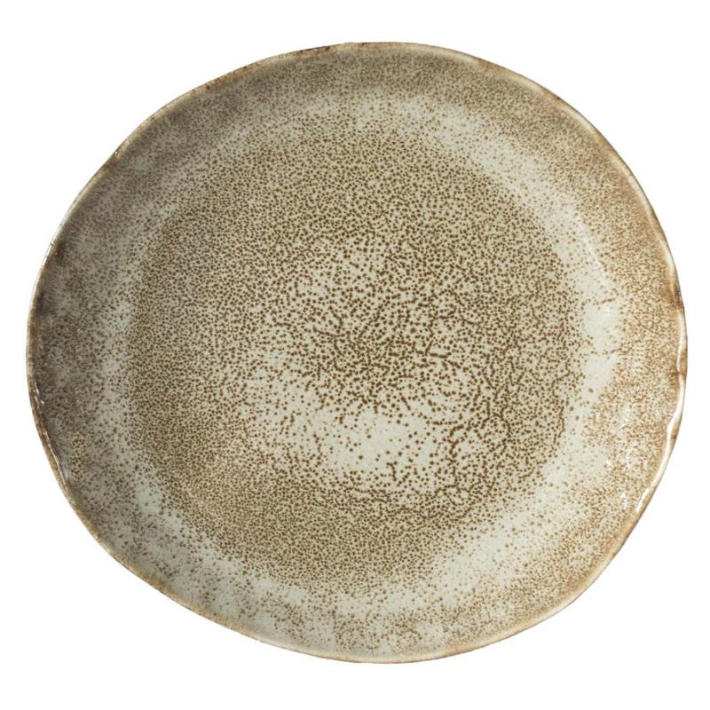 MIKA asiette - mindre tallrik i rustik keramik Olsson & Jensen