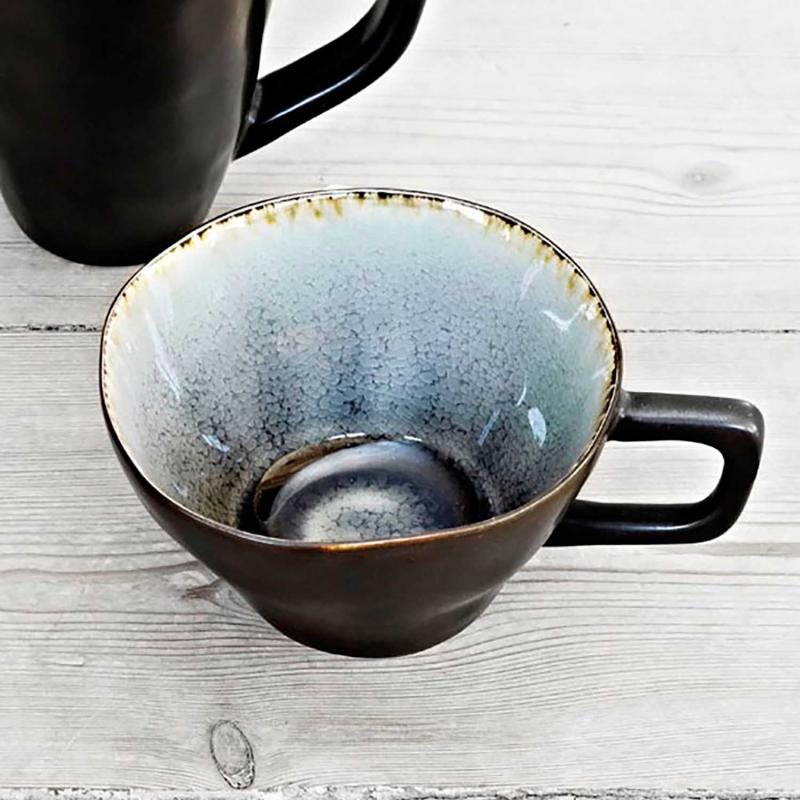 "2 st mugg - kopp i keramik i serien ""Enkelhet"""