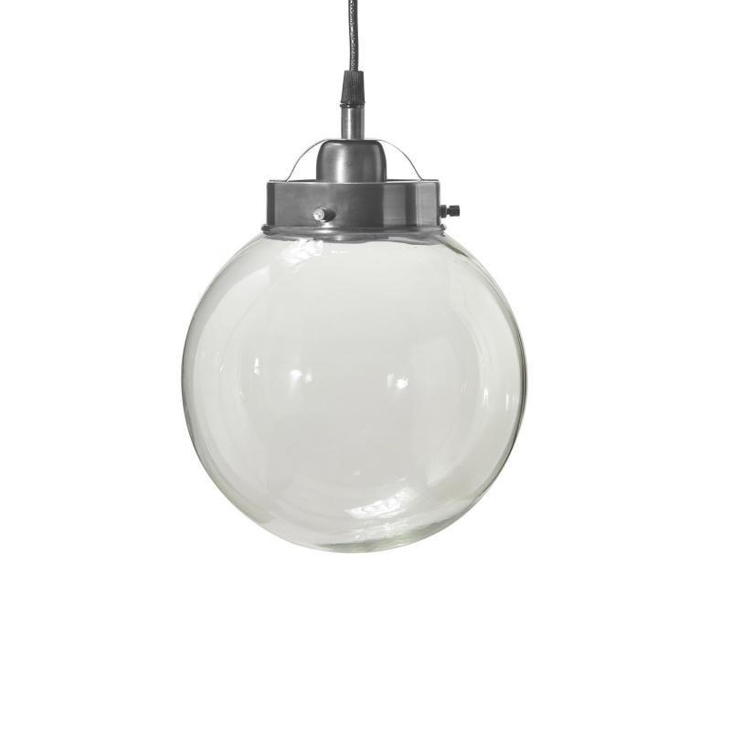 glaslampa glob hänger