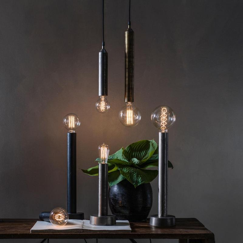 Notice lamphållare - lampfäste i flera metallfärger