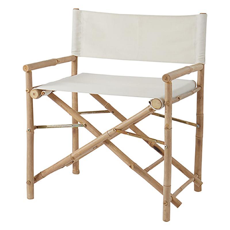 Stol i bambu - hopfällbar regissörsstol