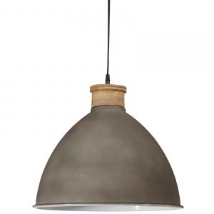Roseville taklampa - lampa från Pr Home i koppar, svart & betong - 32 cm