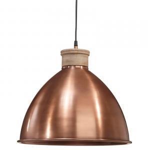 Roseville taklampa - lampa från Pr Home i koppar, svart och betong samt trä - 42 cm