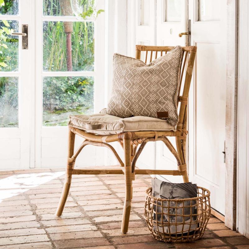 4 st rottingstolar - stol i korg