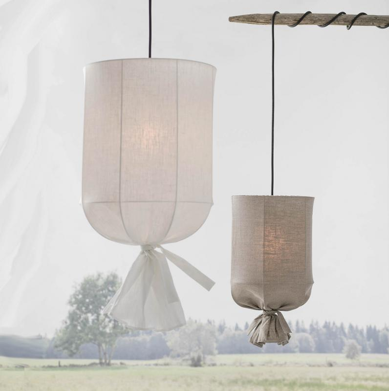Skira utomhuslampa i tyg  - Round Outdoor