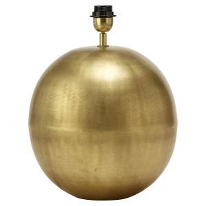 Rund elegant lampfot i matt metall - Globe