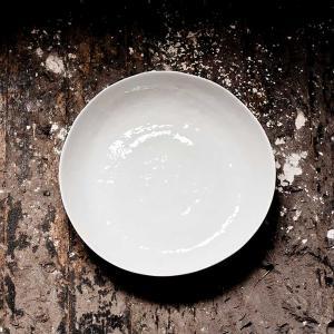 Vit stor skål - salladsskål - potatisskål - serveringsskål