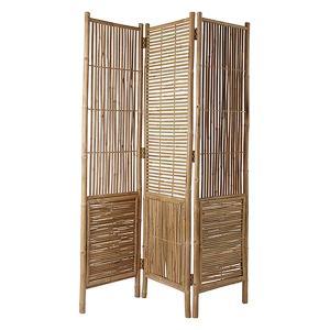 Skärm - rumsavdelare - divider i bambu