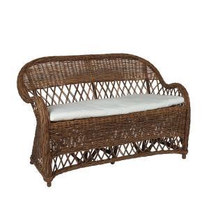 Trädgårdssoffa - klassisk gammaldags soffa i rotting