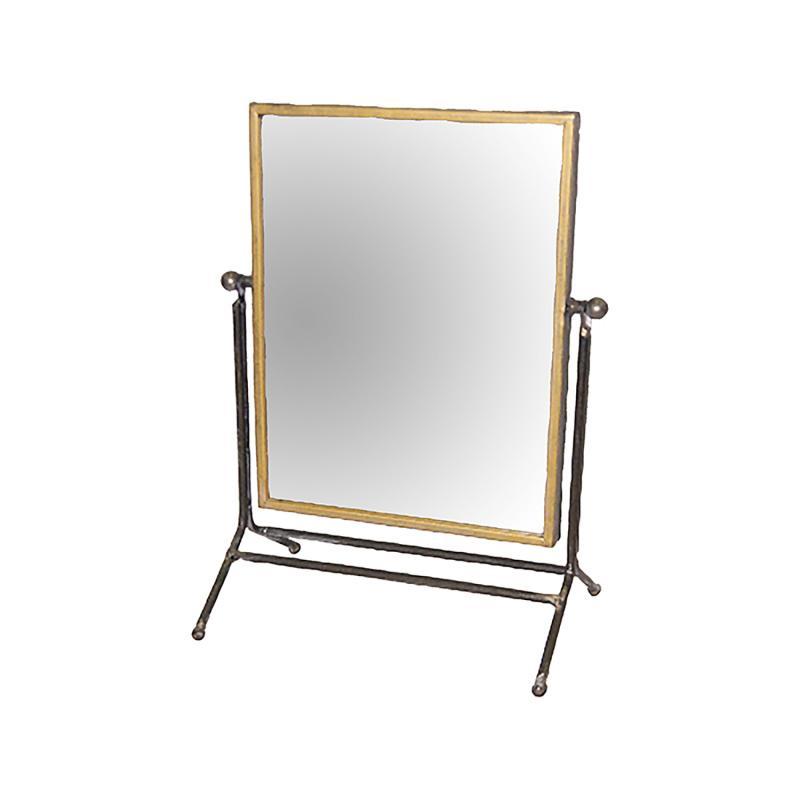 Spegel - sminkspegel - vippspegel med patina