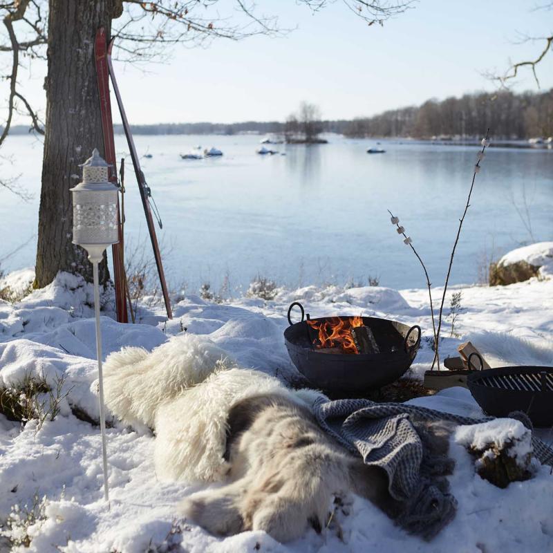 STANLEY fire basket - eldkorg - grilla i vinter