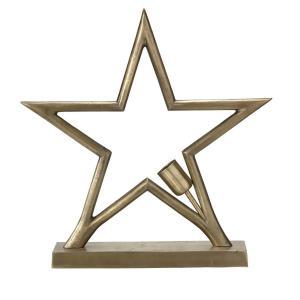 Stående julstjärna metallstjärna - adventsstjärna från PR Home