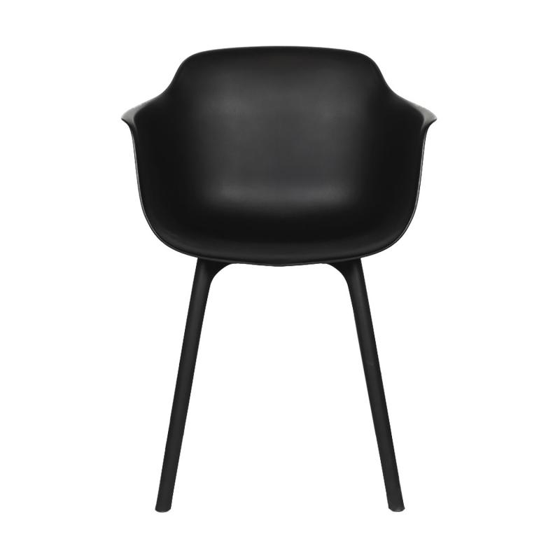 4 st ANDY stol svart - funktionell och modern stil