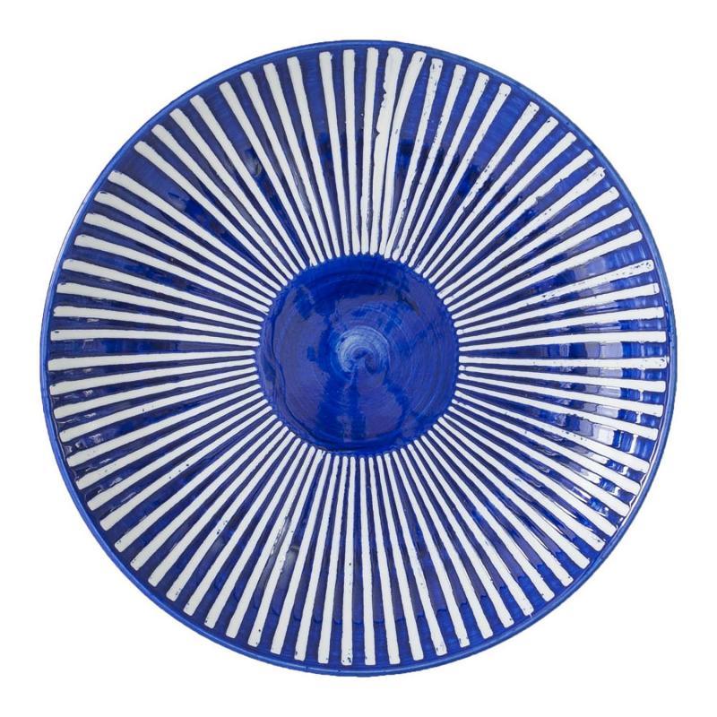 Sött fat i blåvitt porslin - kombinera med serien Saga