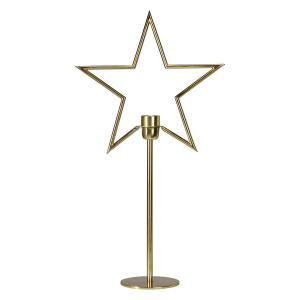 Stående adventsstjärna på fot - julstjärna  TINDRA - 65 cm