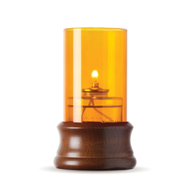 Tudor oljelampa-lampa med oljepatron