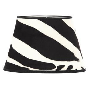 Zebraskärm - tuff lampskärm zebra