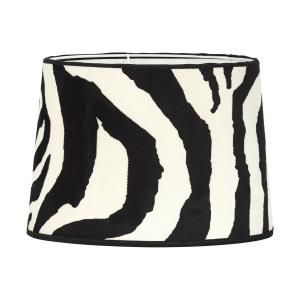 Zebraskärm - tuff lampskärm i zebramönster