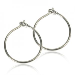 Blomdahl Natural Titanium Safety Ear Ring 12mm