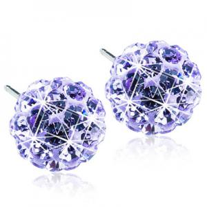 Blomdahl crystal ball violet 8mm