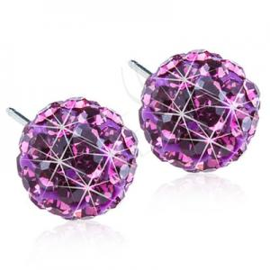 Blomdahl crystal  ball amethyst 6mm