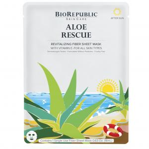 BioRepublic Skincare Aloe Rescue Revitalizing Sheet Mask